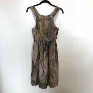 Anthropologie | Fei Pampas Sleeveless Silk Dress